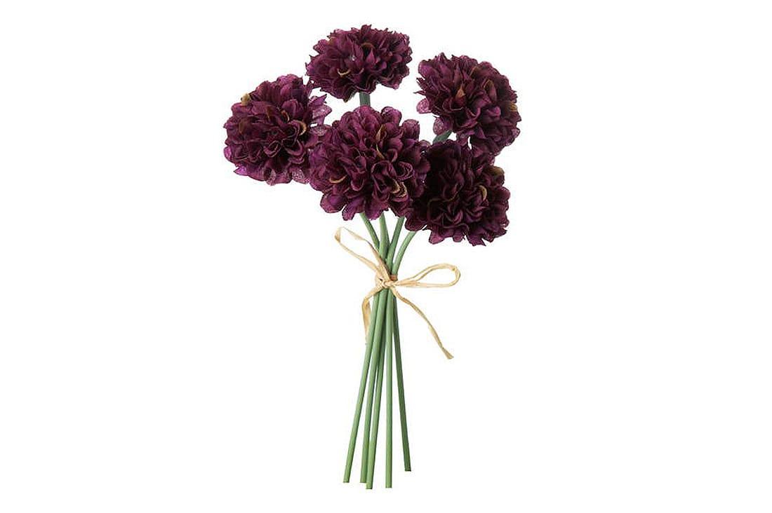 ミニピンポンマムピック(紫)