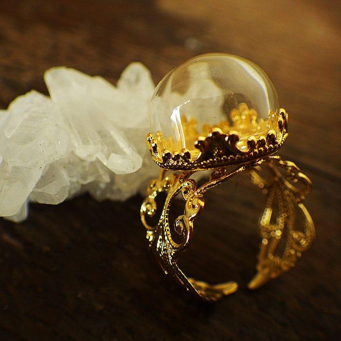 半円 ガラスドーム crown