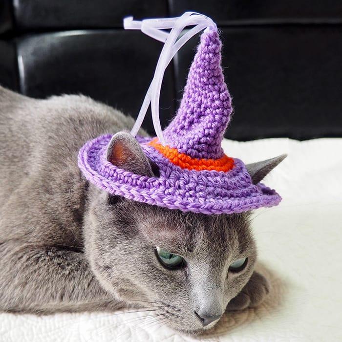 ハロウィン魔女帽子