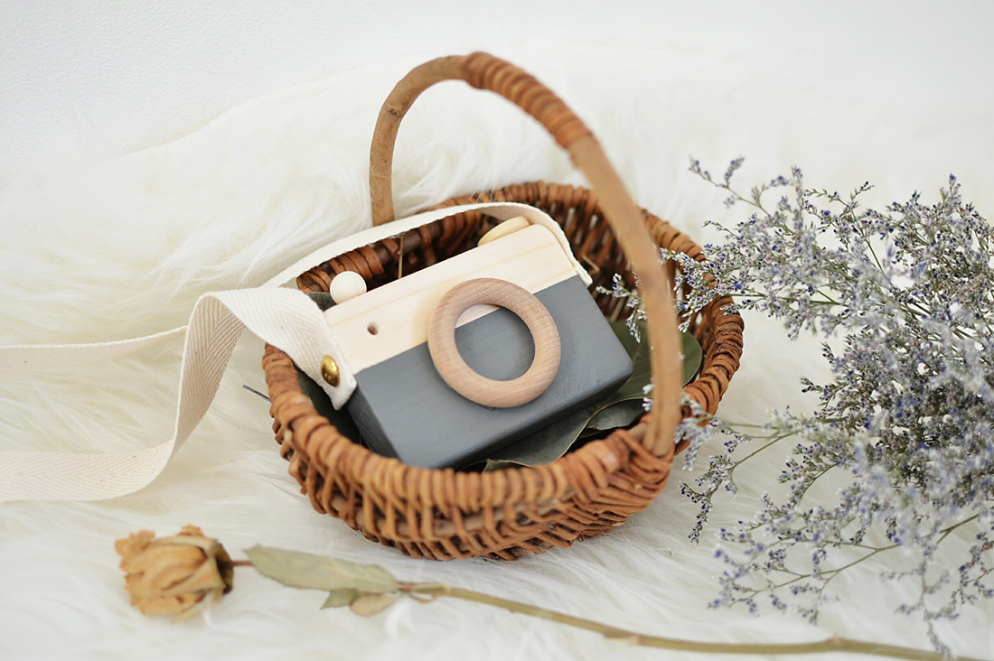 aoiさんの木製カメラ