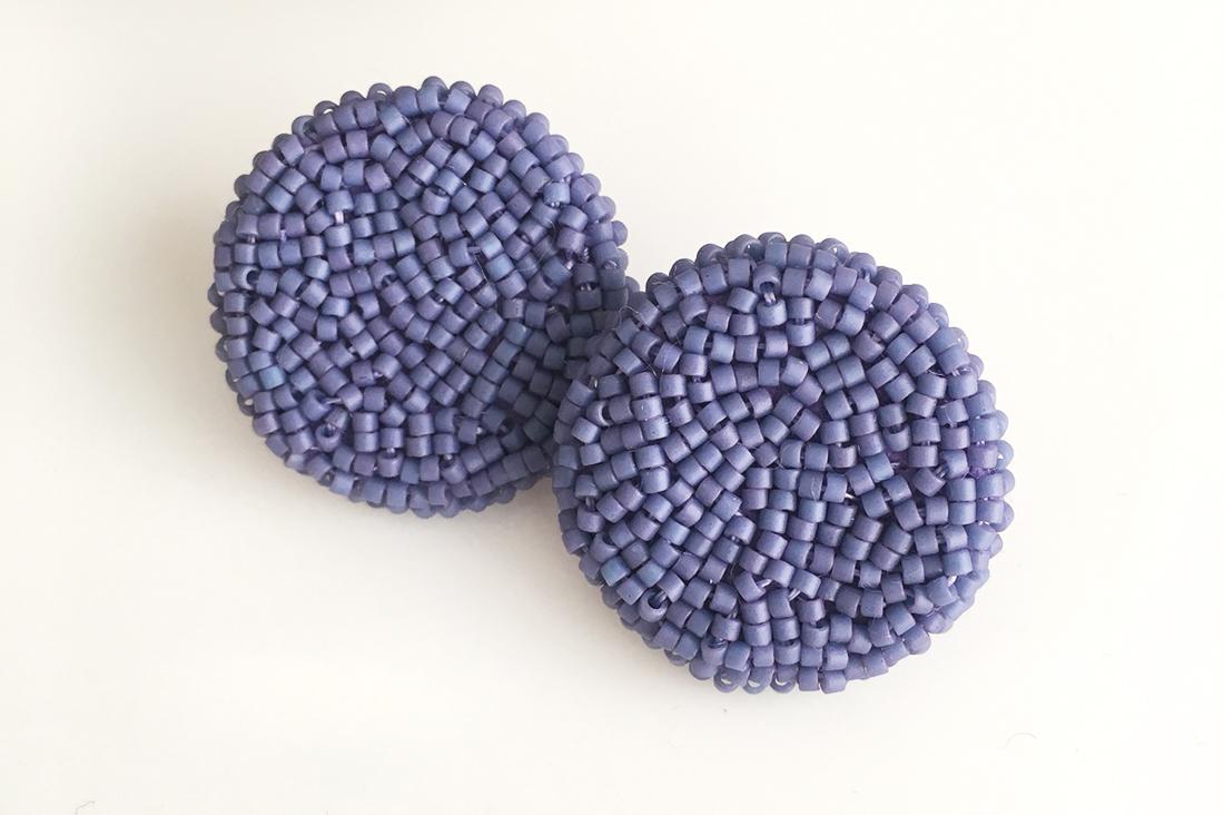 SORAさんの紫陽花のピアス