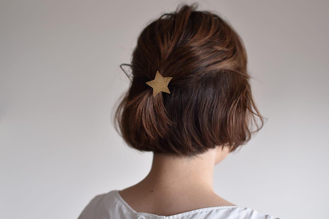 nona ノーナさんの真鍮のヘアゴム