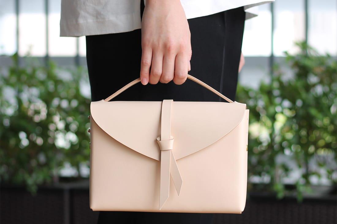 style&thingsさんのレザーボックスバッグ