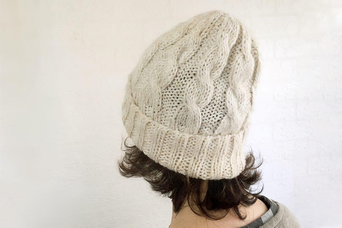 Mon Reve*さんの手編みニット帽