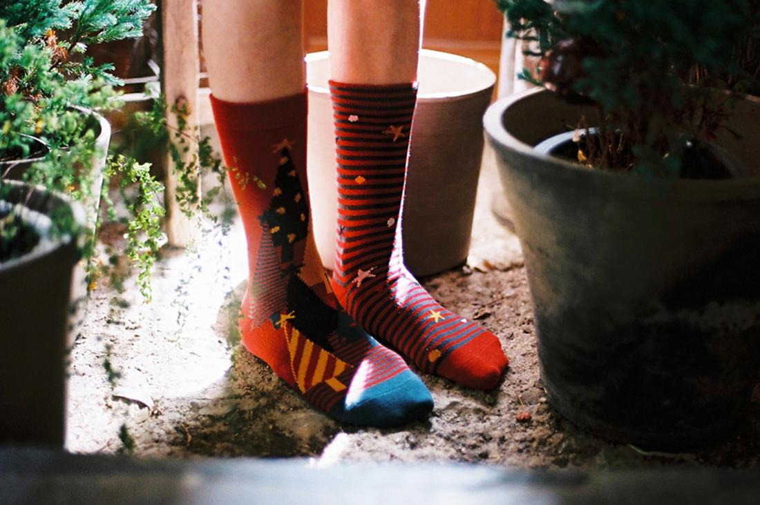 2nd PALETTEさんのクリスマス・イヴ、靴下