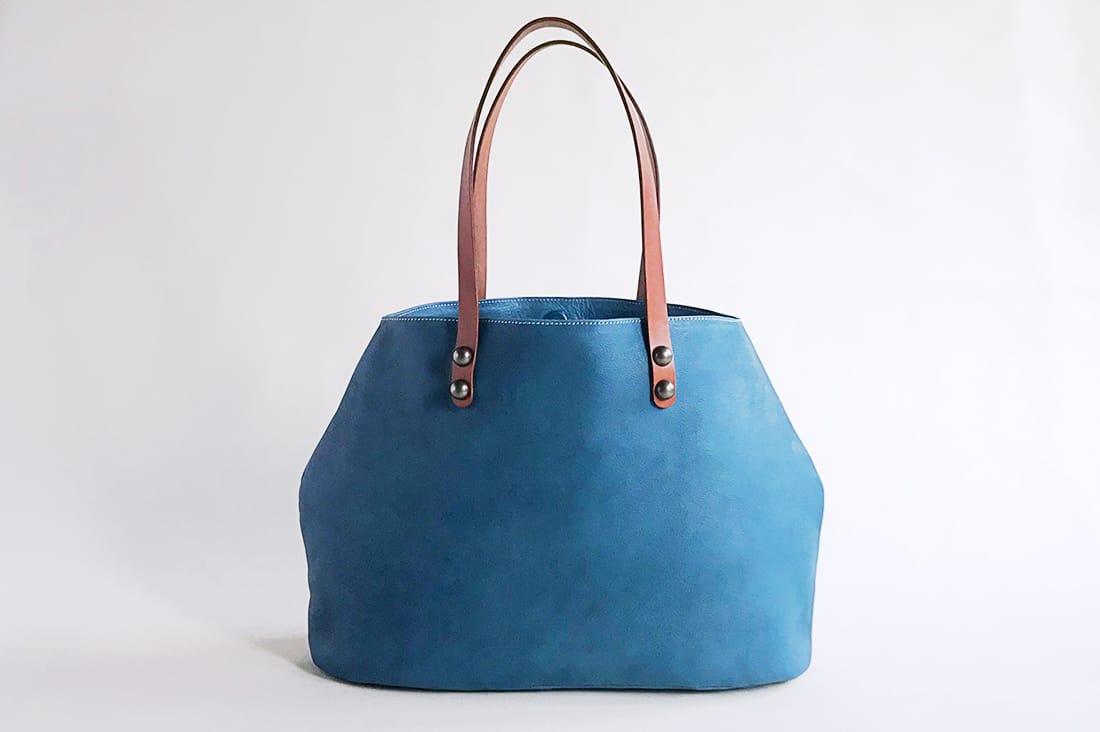 morisugaさんのオールレザーのトートバッグ
