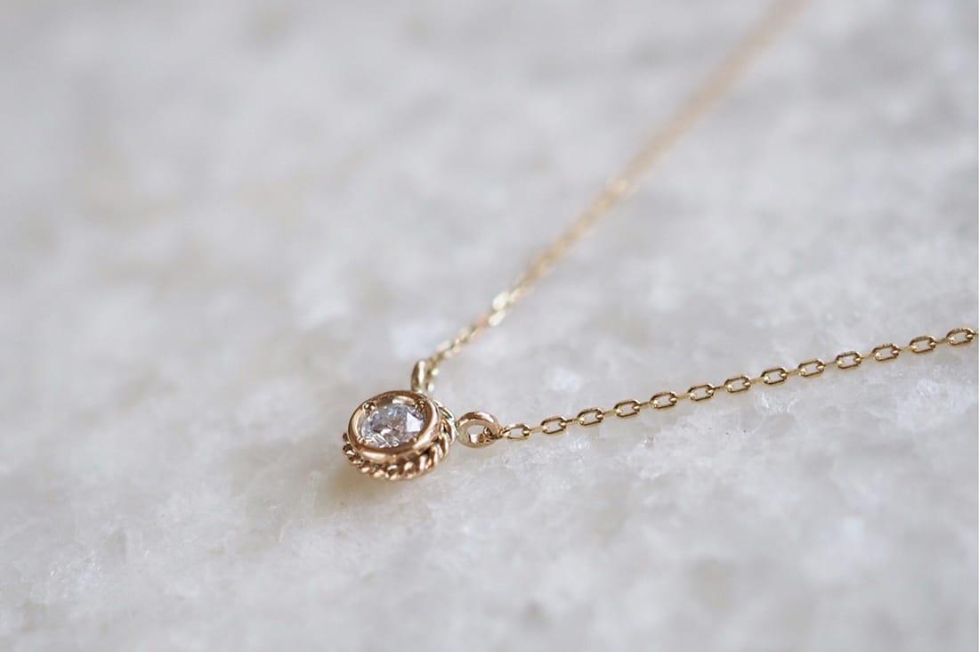 Aimée bijouxさんのダイヤモンドネックレス