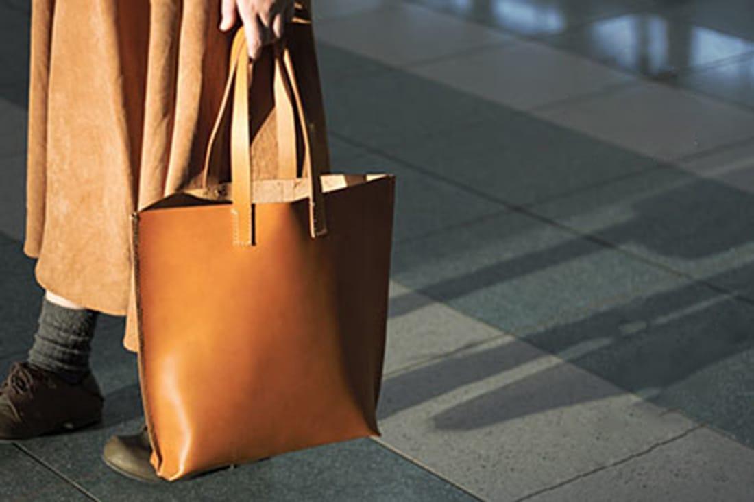 ikkaさんの本革のバッグ