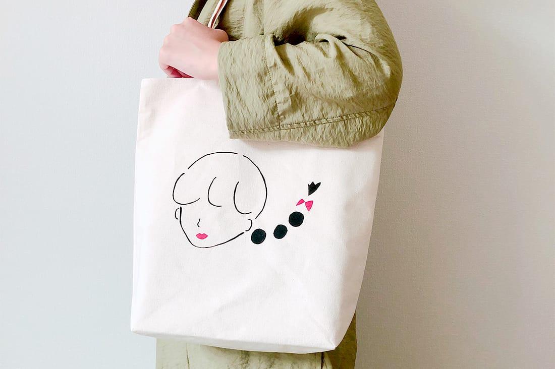 Linon〜リノン〜さんのロゴトートバッグ