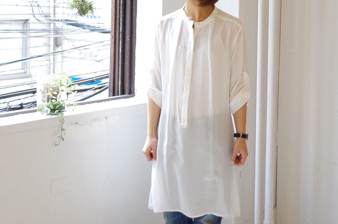 AKKA EM STUDIOさんのシャツワンピース