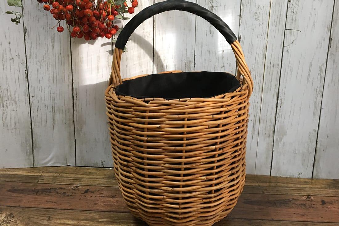 kagoyuiさんのバケツ型かごバッグ