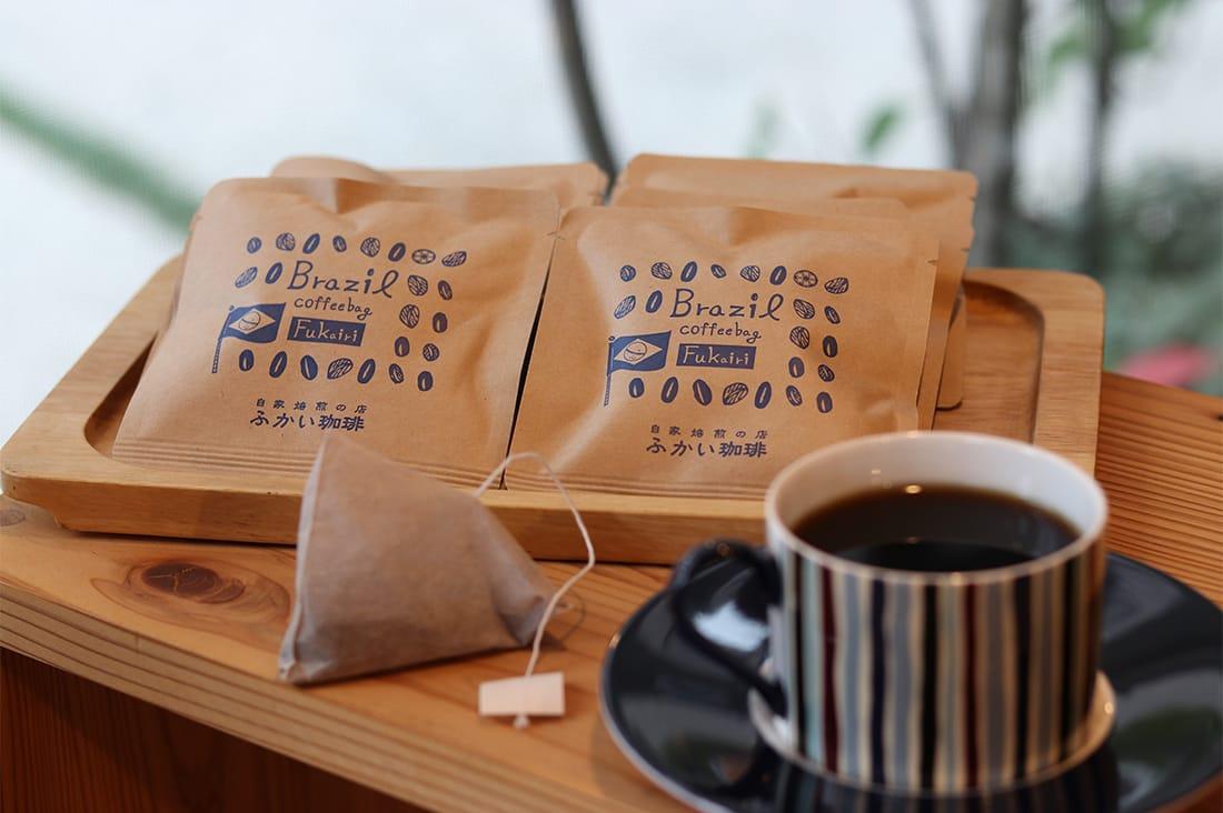 fukaicoffeeさんの珈琲バッグ