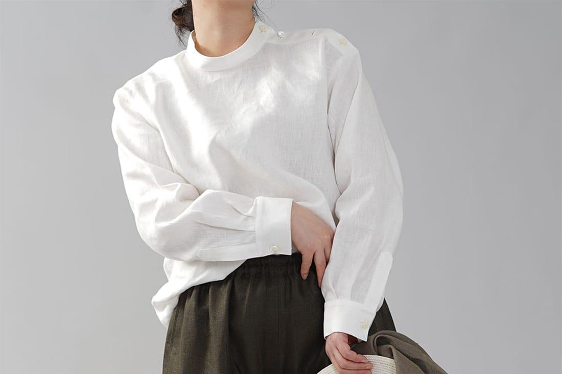 wafuさんのブラウスシャツ