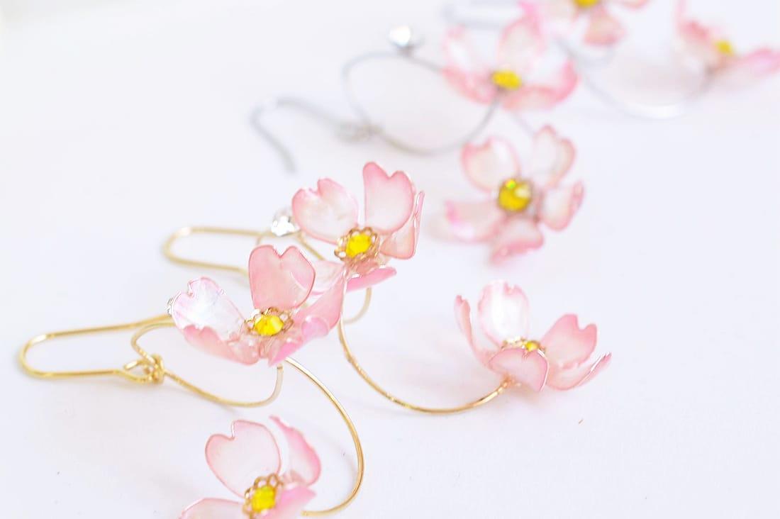 Atelier Sayuraさんの桜のピアス