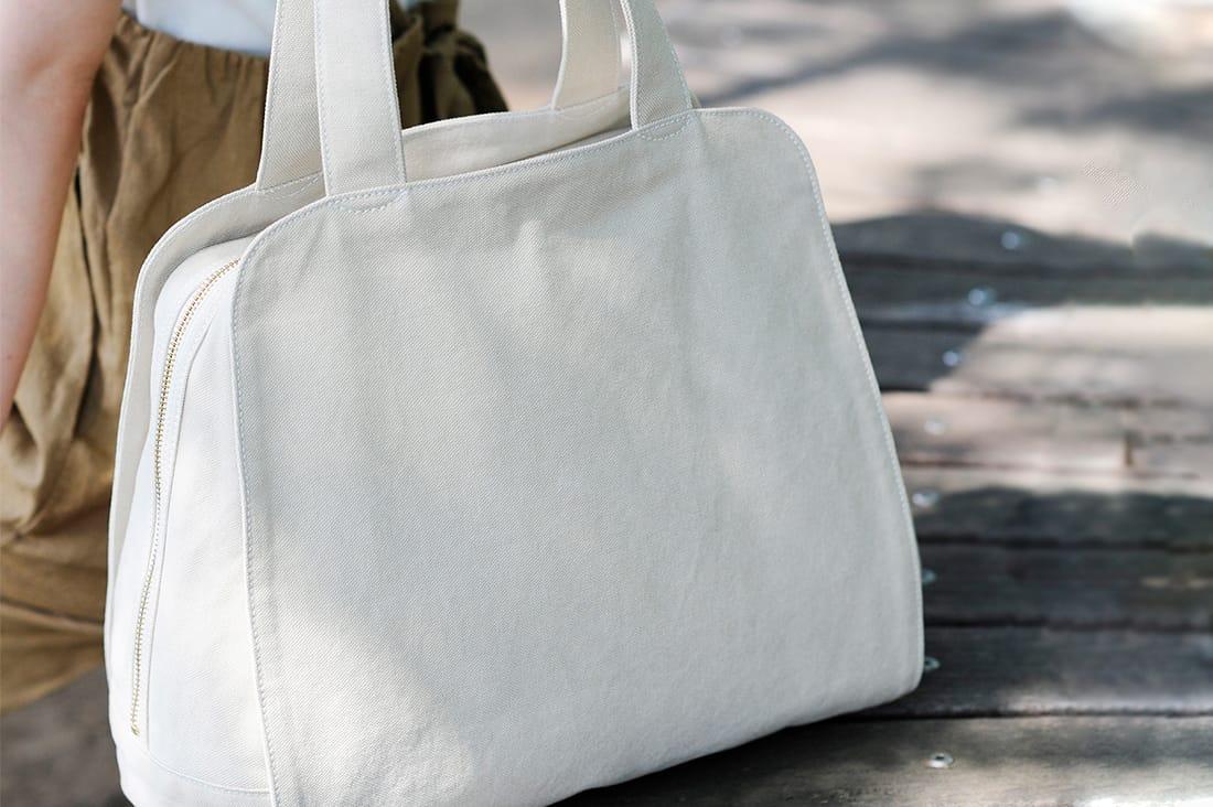 Hanp Bag Troccoさんの帆布バッグ