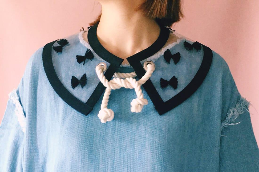 つけ襟DRESS ME(ドレスミー)さんのPVCのマリンスタイルつけ襟