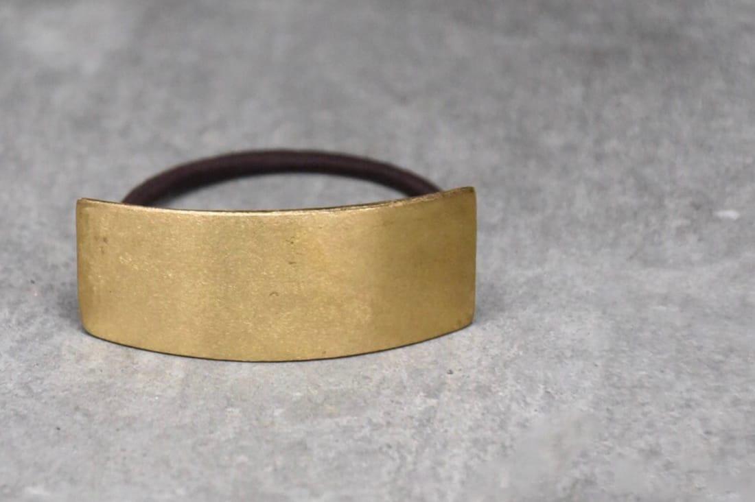 sorelle-hmさんの真鍮素材のヘアゴム