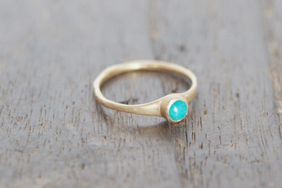 atelier kikikiさんの誕生石のリング