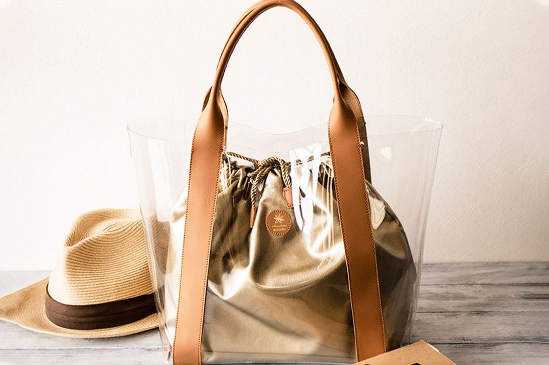 chouchou masakoさんのクリアトートバッグ