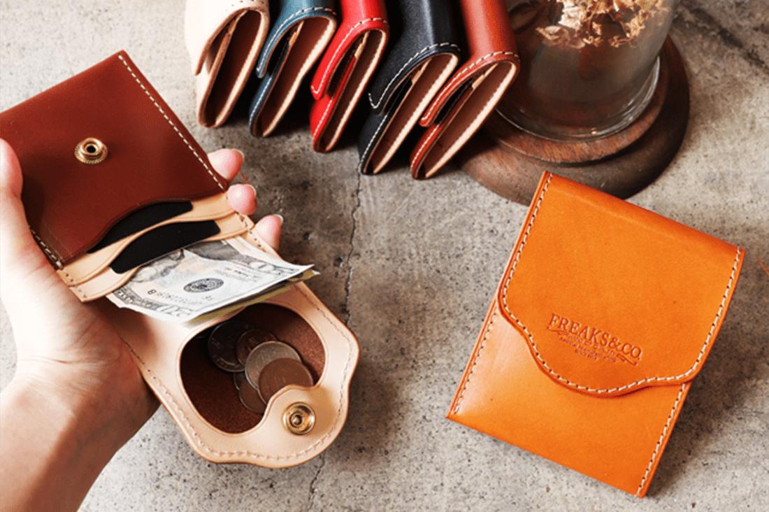 Freaks&co.さんの薄型コンパクト財布