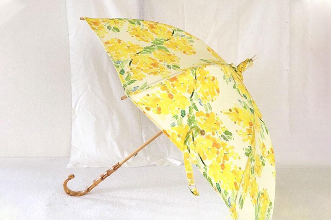 miyaco hyperさんのミモザの日傘