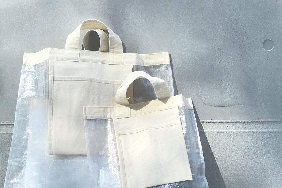 WAGDOGさんのポリエチレントートバッグ