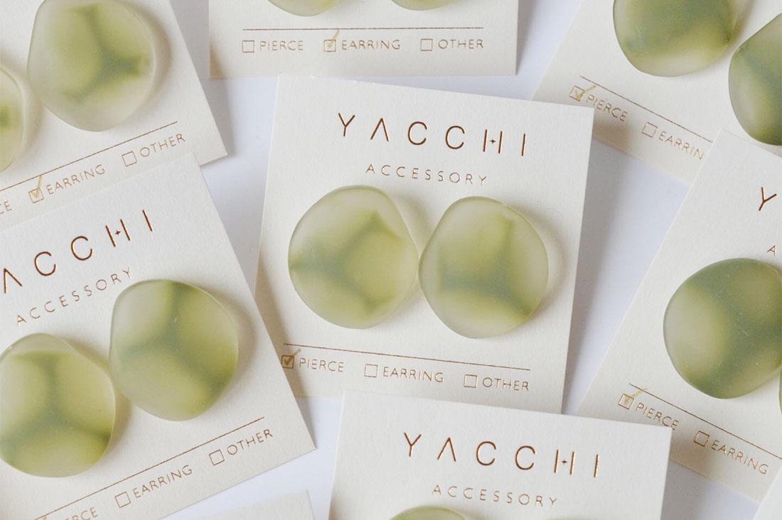 yacchiさんのmat earring