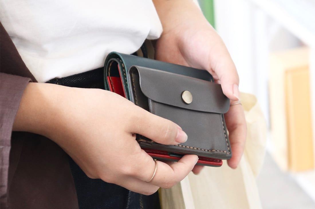 grace factoryさんのミニ財布