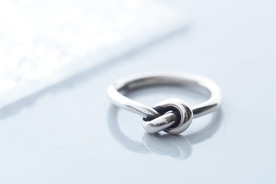cloud-jewelryさんの結びリング