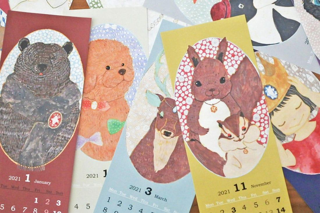 kurikoさんのkuriko2021カレンダー