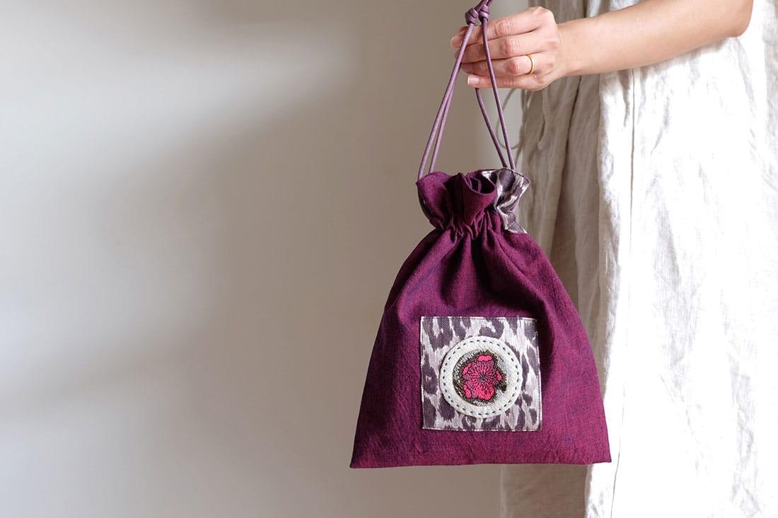 1o (wano-)さんの巾着バッグ