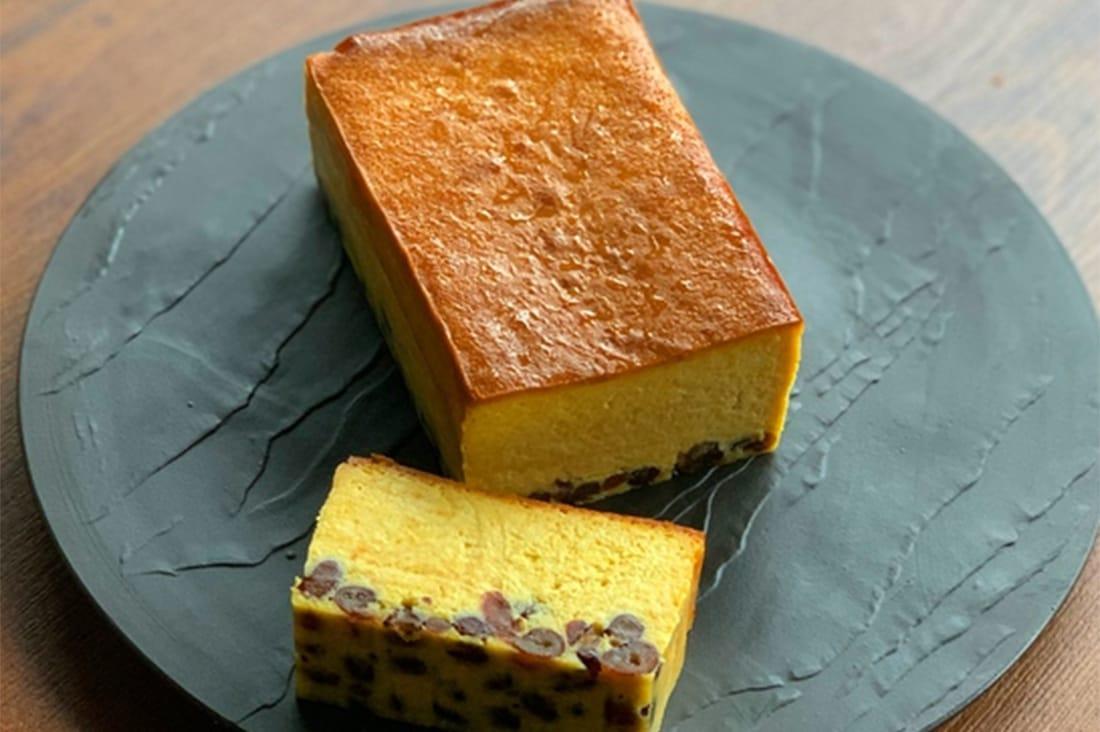 世田谷テーブルギフトさんの濃厚パンプキンチーズケーキ