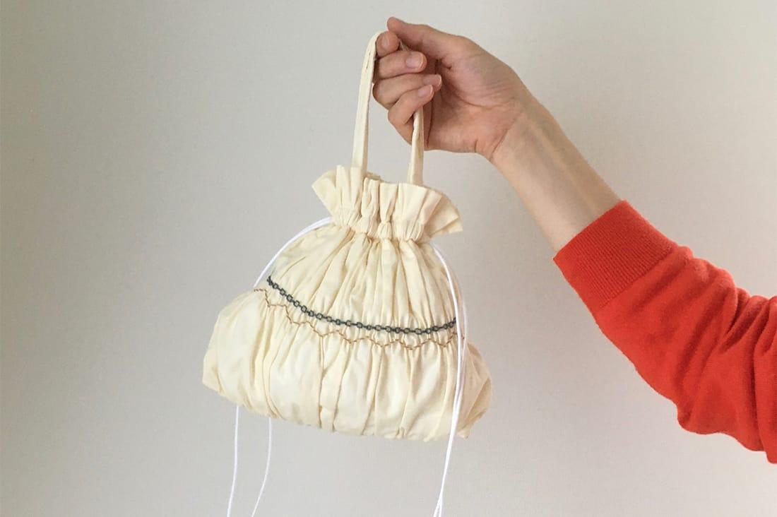 lemon iroさんの巾着バッグ