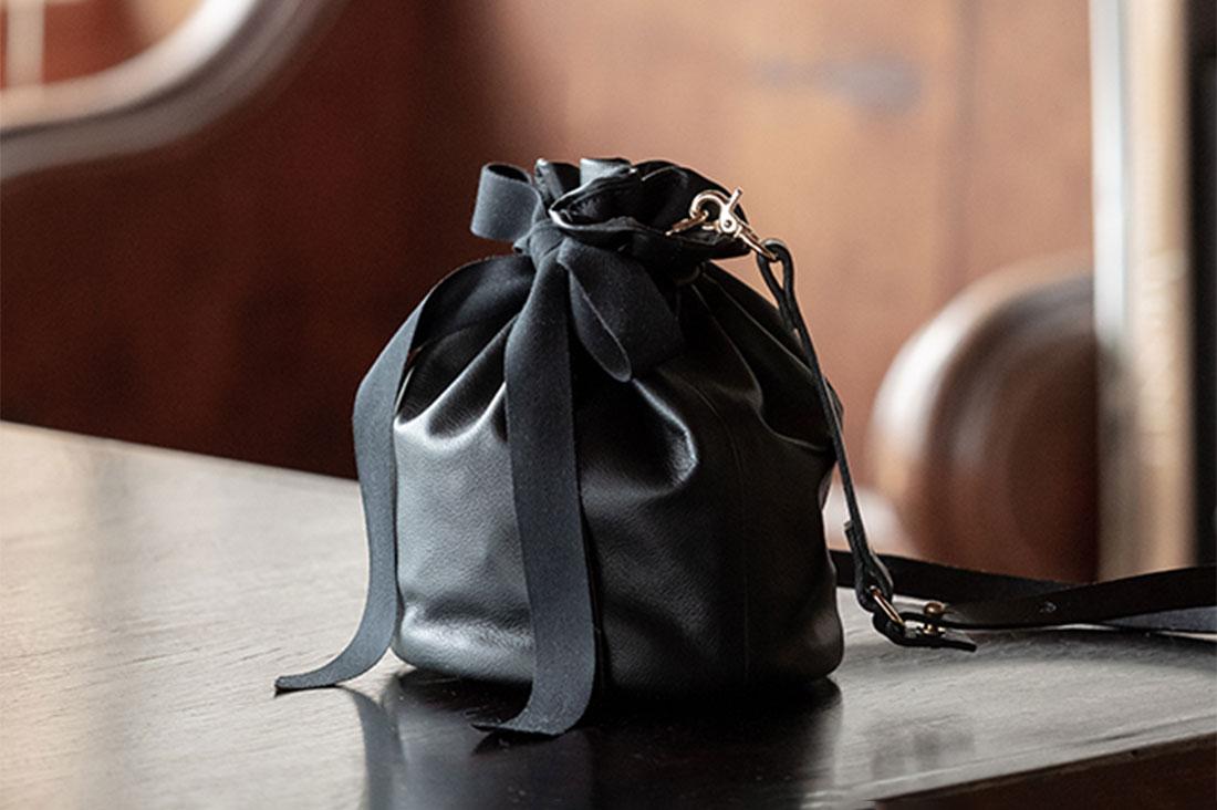 HARRIETさんの巾着バッグ