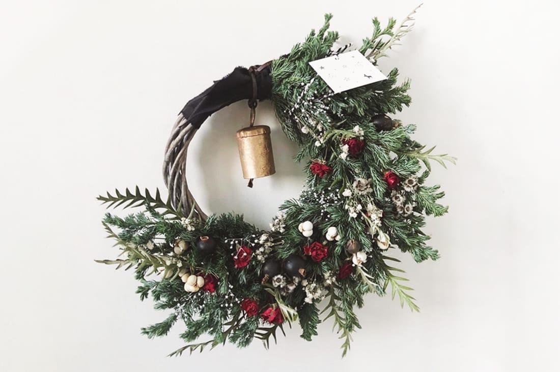 fee de fleurageさんのクリスマスリース