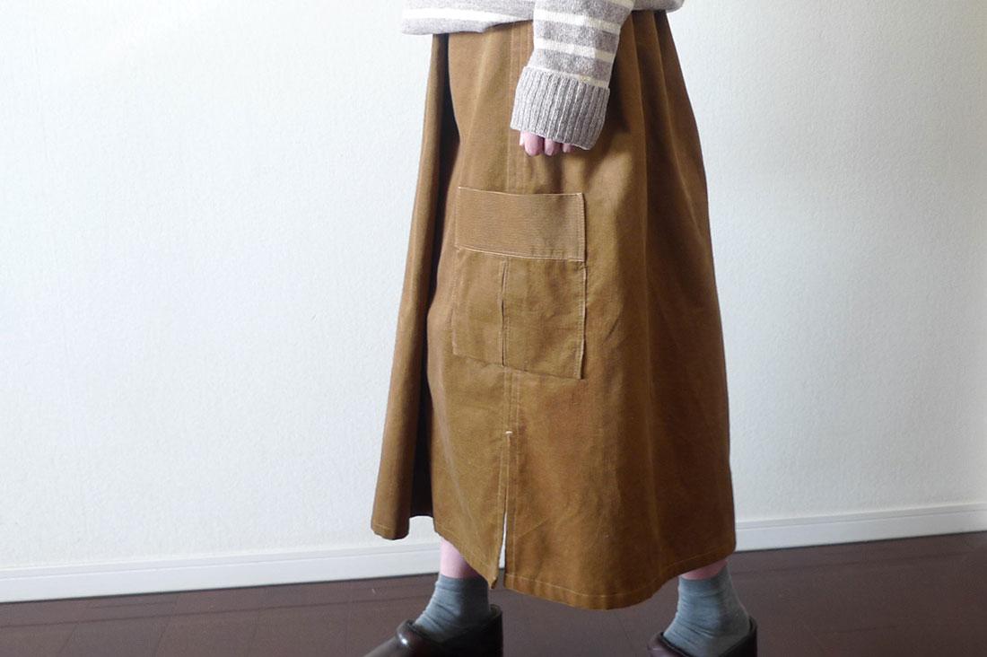 Atelier Racoさんのワークロングスカート