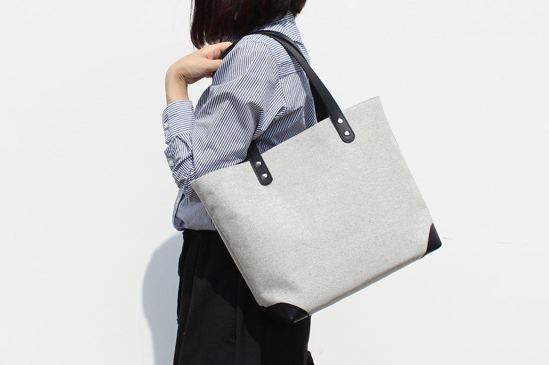shinateruさんの高島帆布トートバッグ