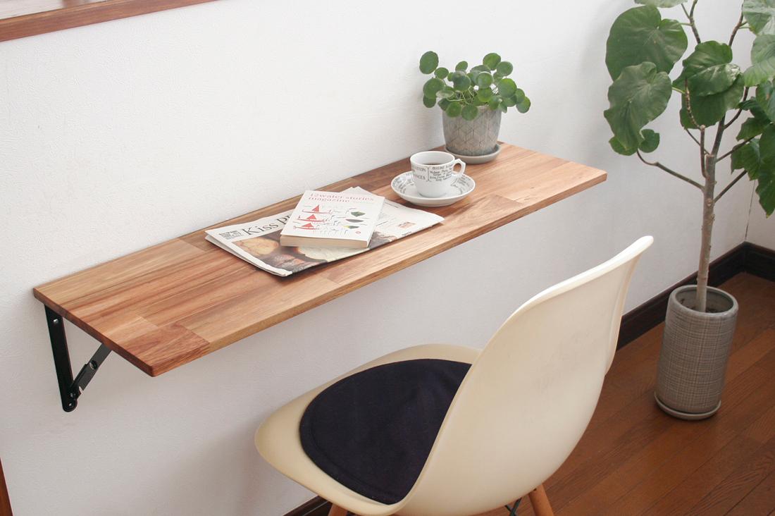 BotanicalGardenさんのアカシアの折りたたみ式カウンターテーブル
