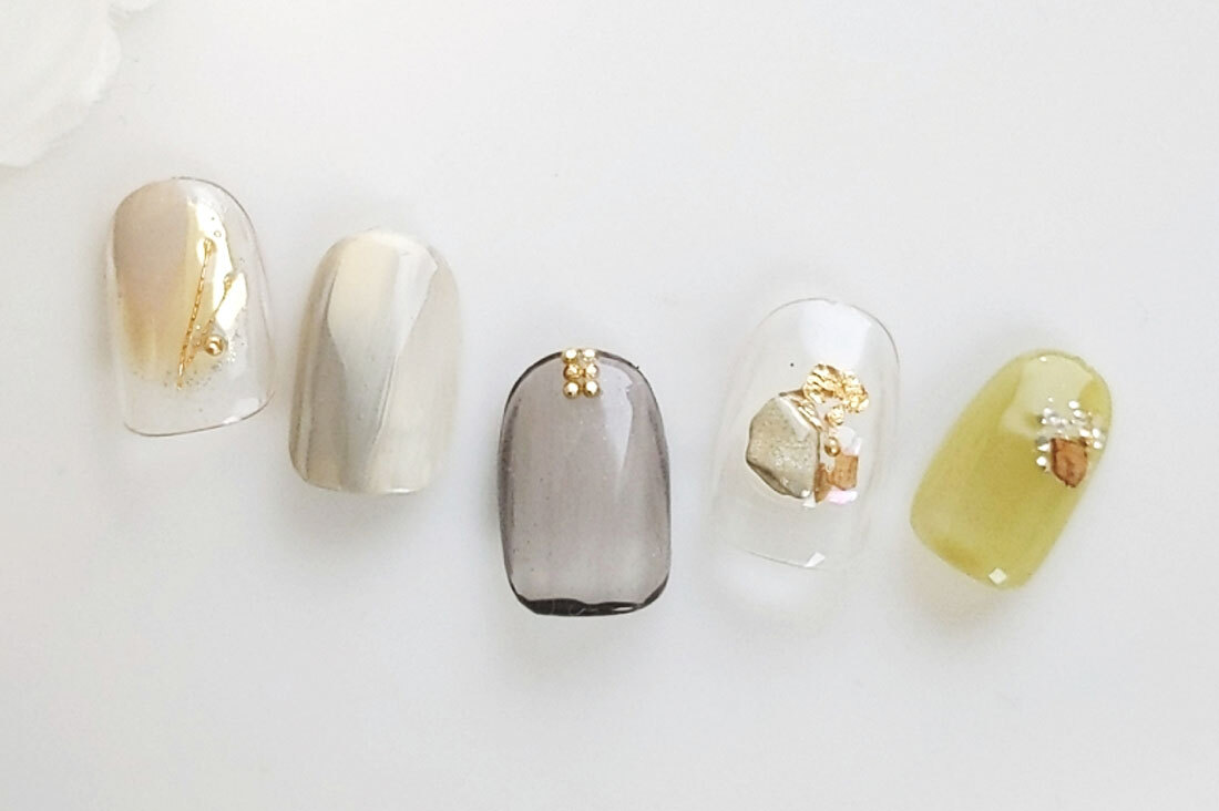 M+2 nail and jewelryさんのネイルチップ