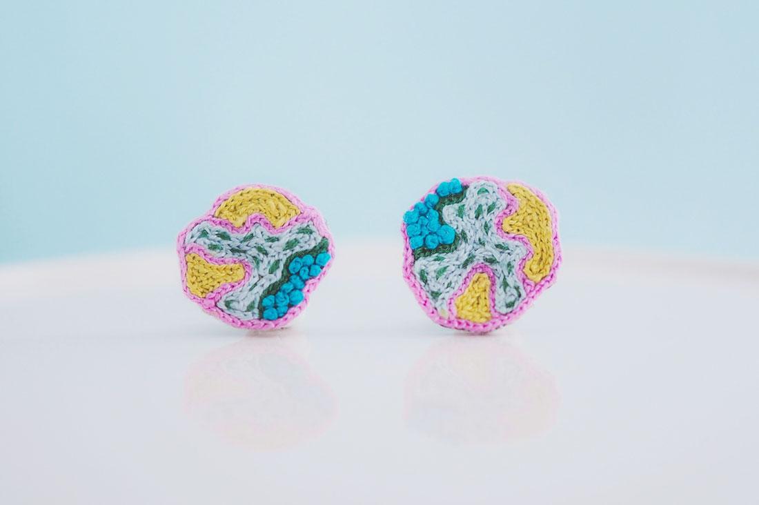 Já(ヤー) / by hamokoさんの微生物のような耳飾り