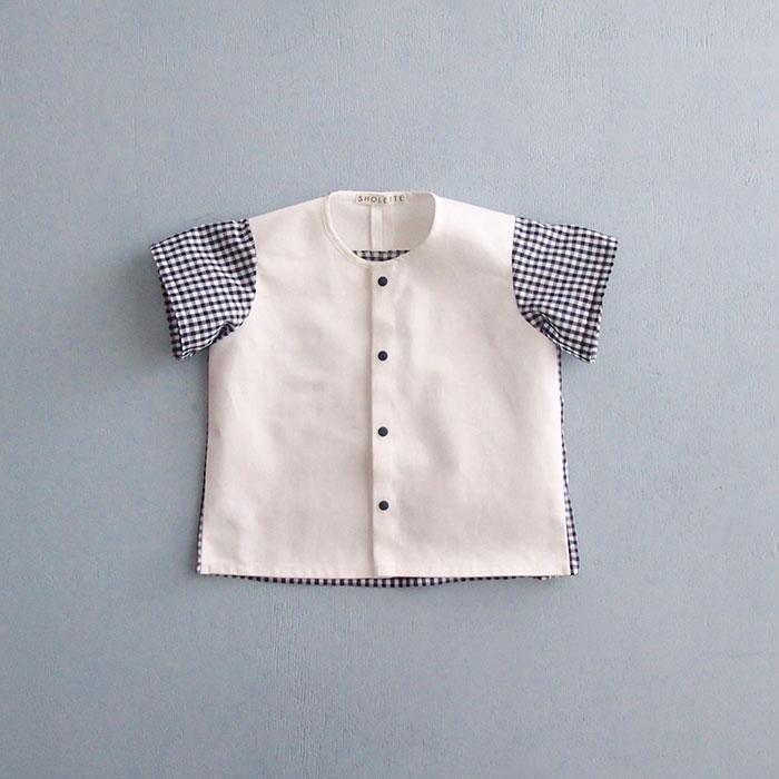 SHOLETTE designerさんのギンガムシャツ