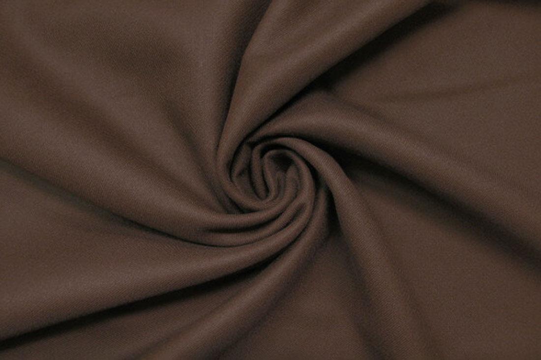 lunonkiziさんのウール100% こげ茶色 イタリア製 輸入生地