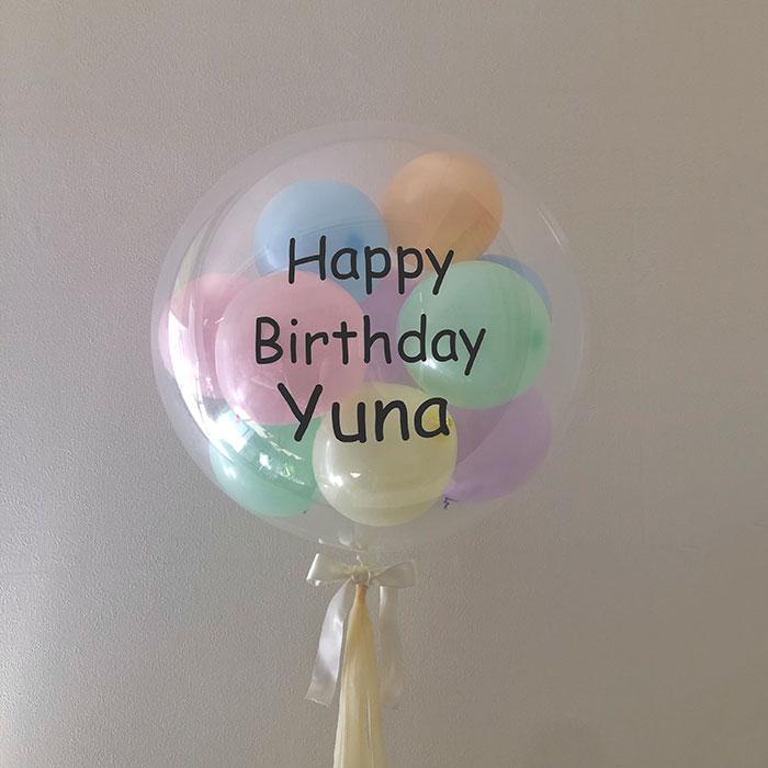 Lovelic Balloonさんのパステルマカロンミックスバルーン