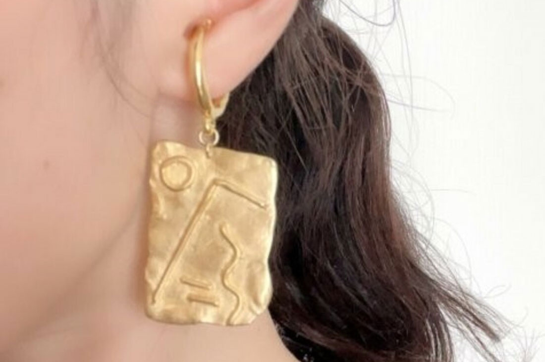 ceskarikoさんのGeoglyph ear cuff【片耳】