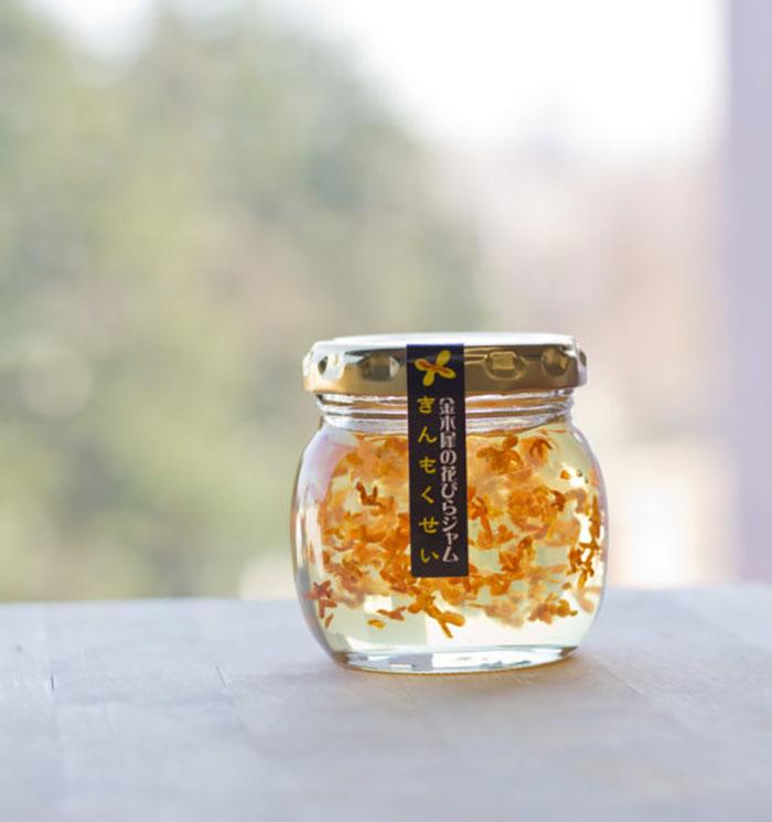 marmellataさんの金木犀の花びらジャム