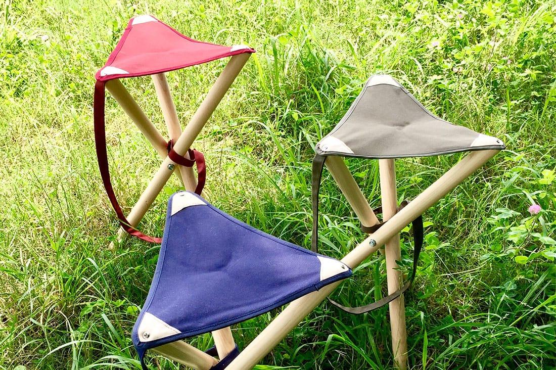 d-kazooさんの防水帆布ハンティングチェア