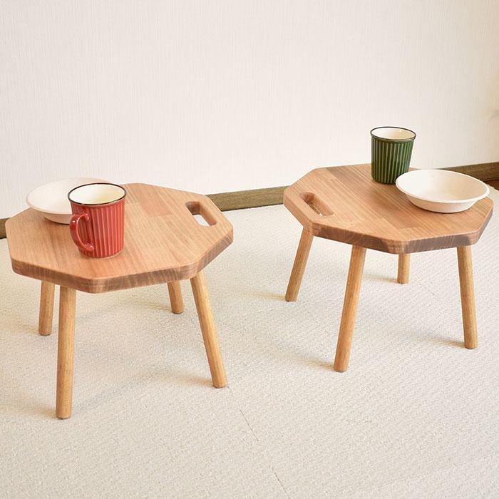 きいろの木さんのコンパクトテーブル