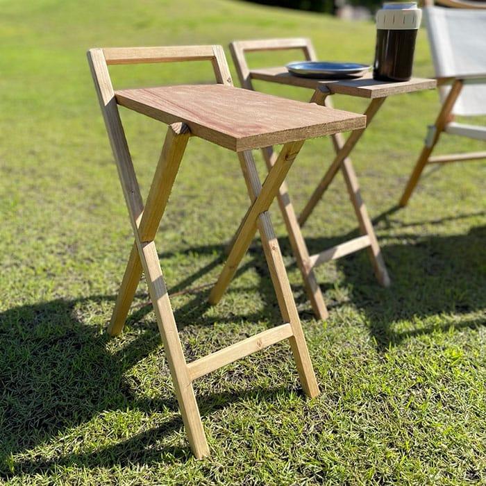 yama....さんの折り畳み式サイドテーブル