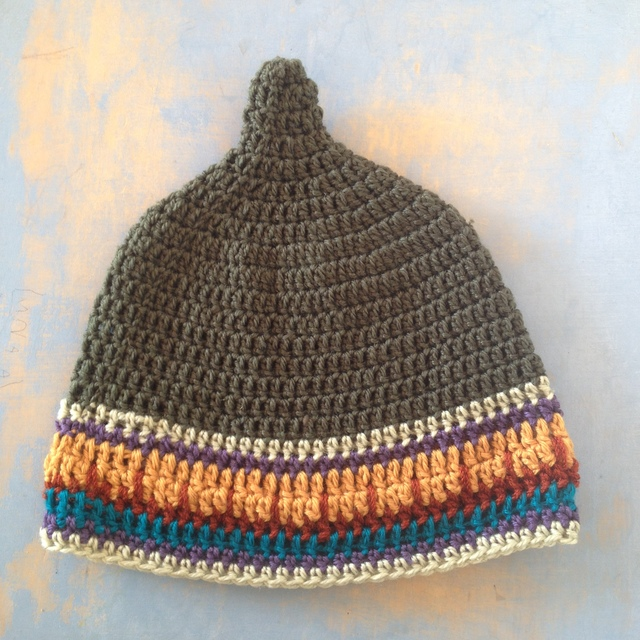 南米カラー グアテマラ LL とんがり帽子 どんぐり帽子 グリーン