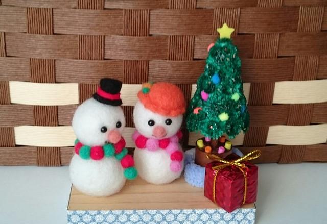 雪だるまとツリー(再販)